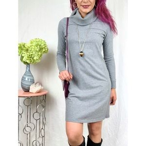 J. Jill Cowl Neck Long Sleeve Dress